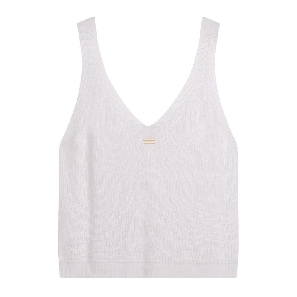 10Days White top knit 20-613-1201
