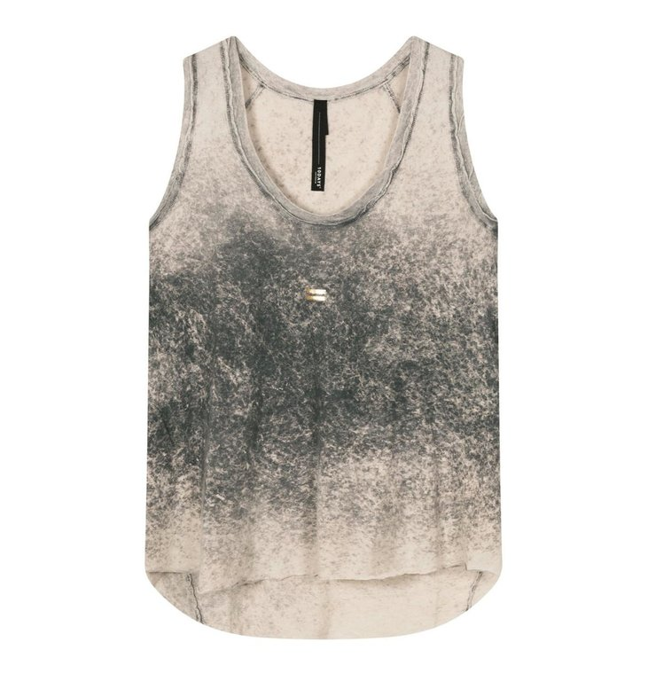 10Days 10Days Grey sleeveless top 20-451-1201