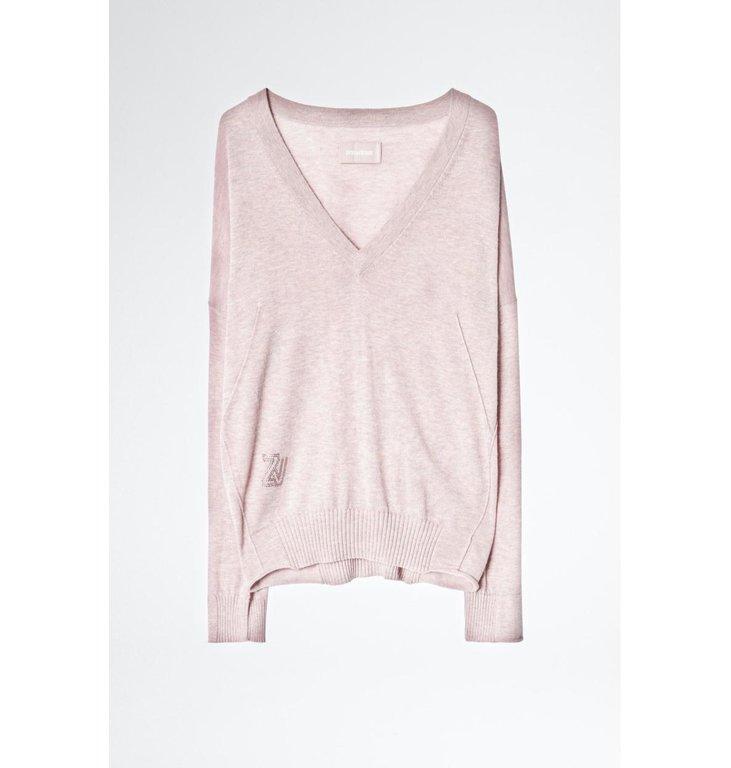 Zadig & Voltaire Zadig & Voltaire Soft Pink Knit Brumy