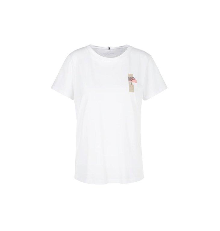 Marc Cain Marc Cain White T-shirt QS4864-J82