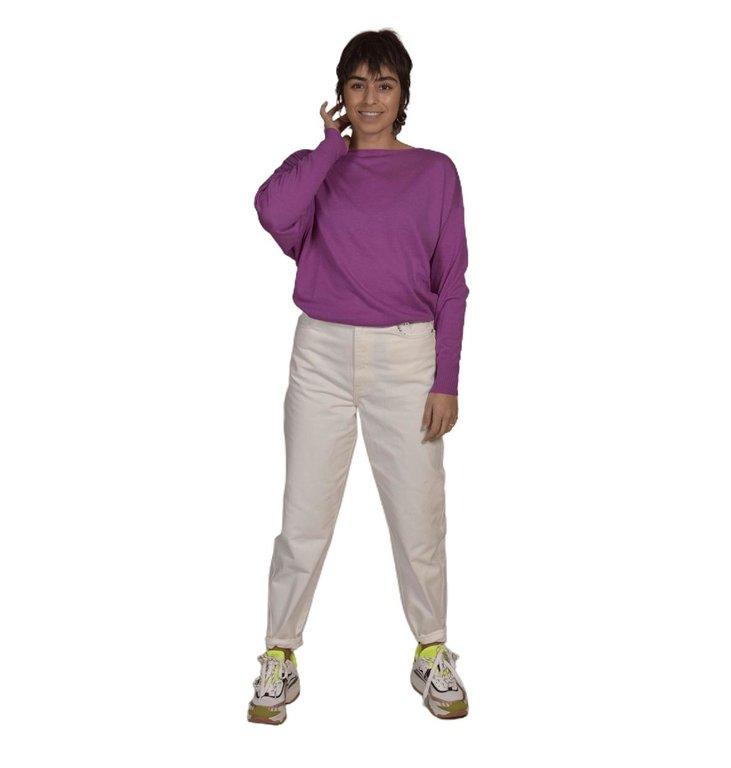 Essentiel Antwerp Essentiel Antwerp Pink Large Sleeve Pullover Zaig