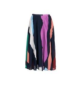 Essentiel Antwerp Essentiel Antwerp Multicolour Pleated Skirt Zalerie