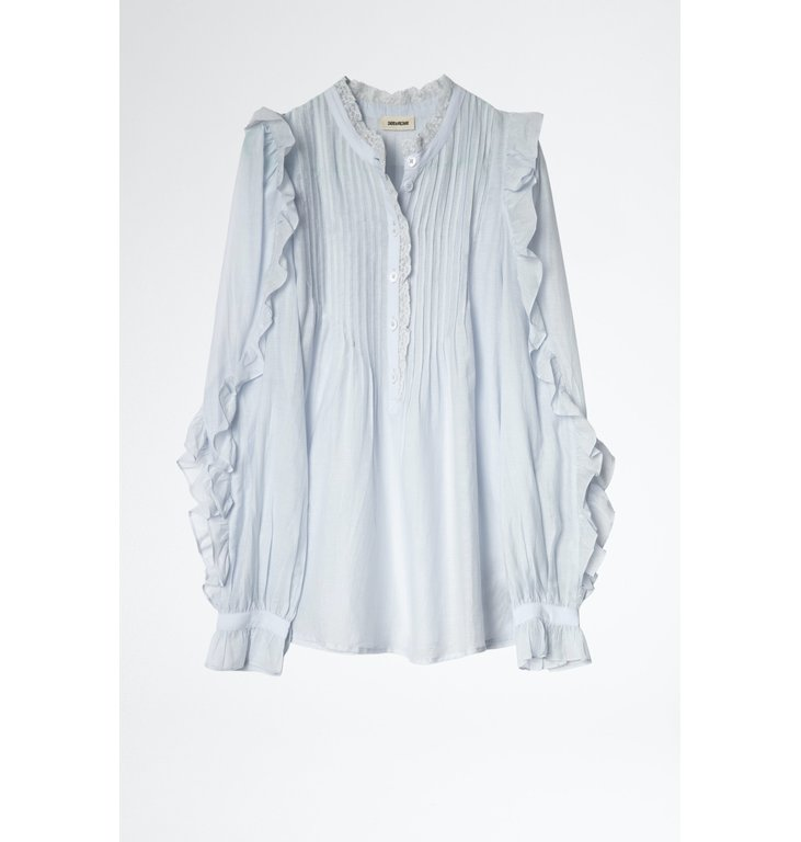 Zadig & Voltaire Zadig & Voltaire Blue Blouse Timmy Tomboy