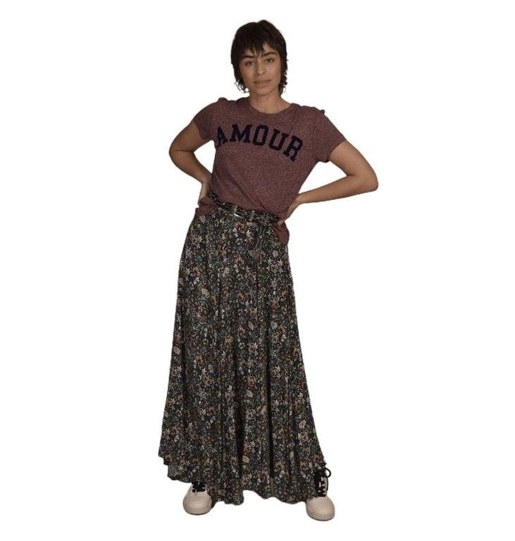 Zadig & Voltaire Zadig & Voltaire Coral T-shirt Walk Amour
