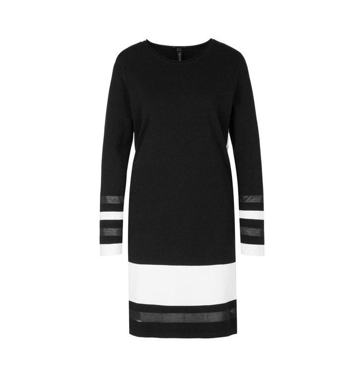 Marc Cain Marc Cain Black Dress QS2105-M06