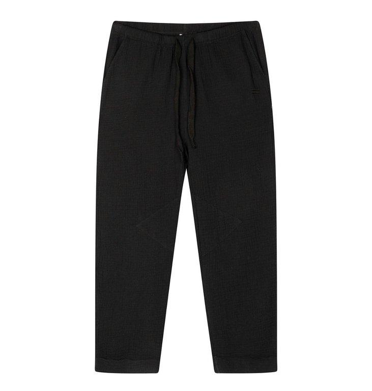 10Days 10Days Black pants crinkle 20-047-1201