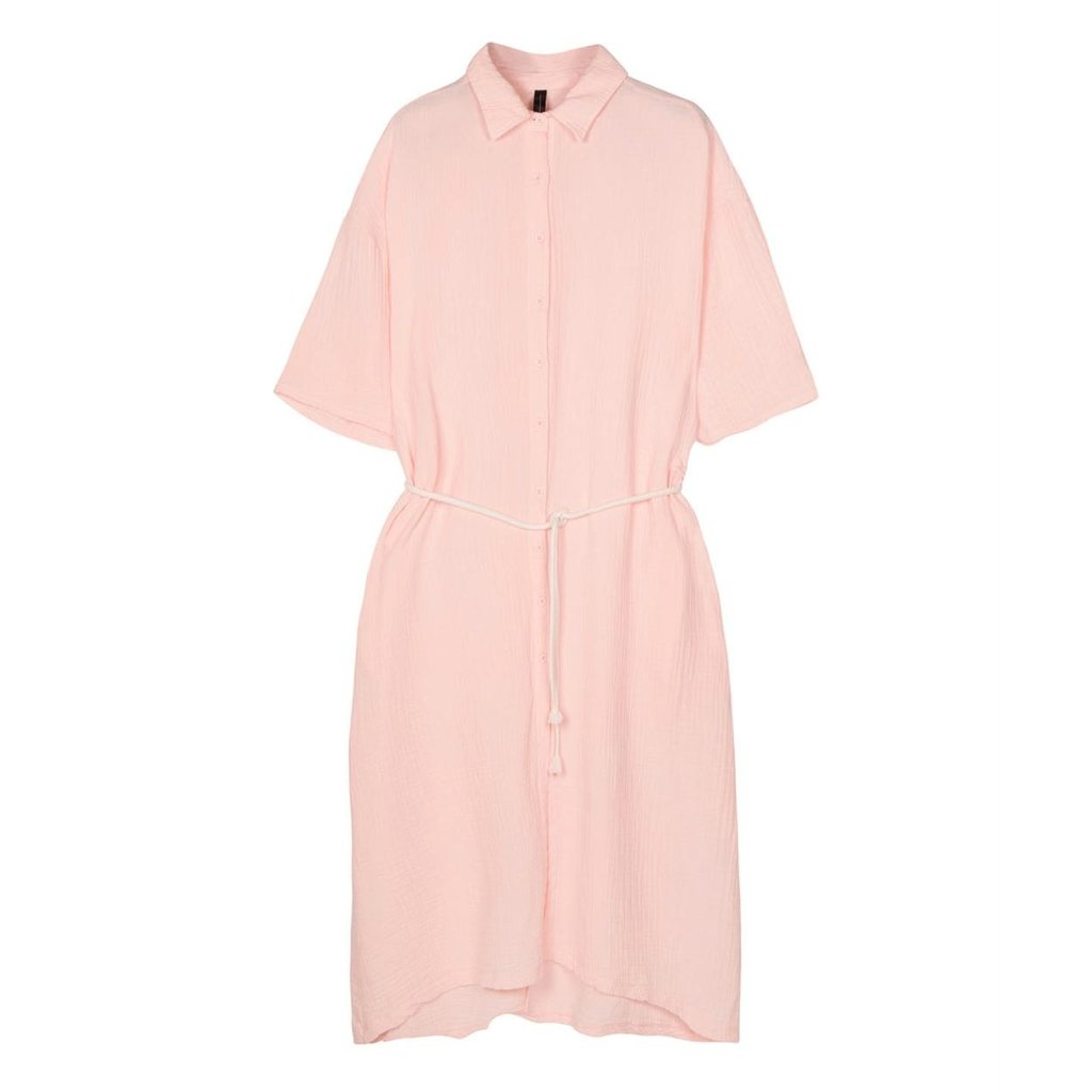 10Days Soft Pink dress crinkle 20-337-1201