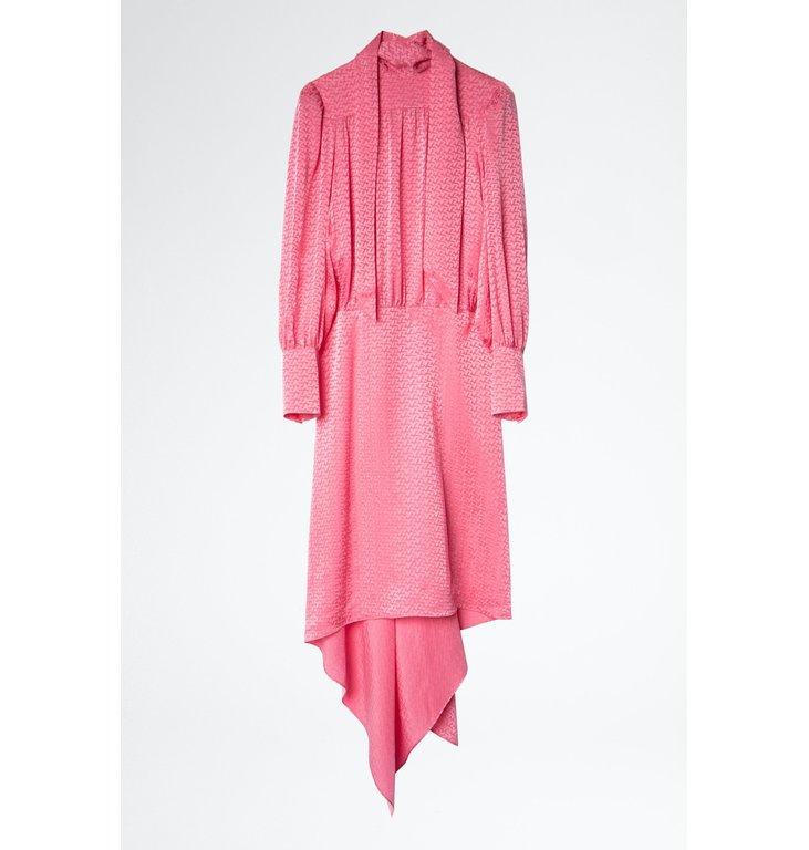 Zadig & Voltaire Zadig & Voltaire Pink Dress Rire Jac