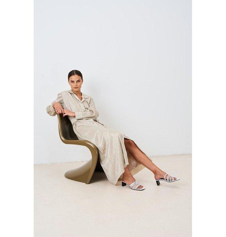 Chptr S Chptr S Silver/Gold Dress Frost Dress