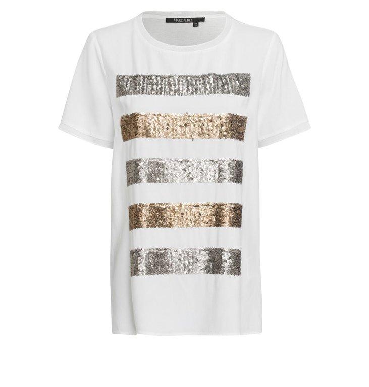 Marc Aurel Marc Aurel White Shirt 7099-7000-73288