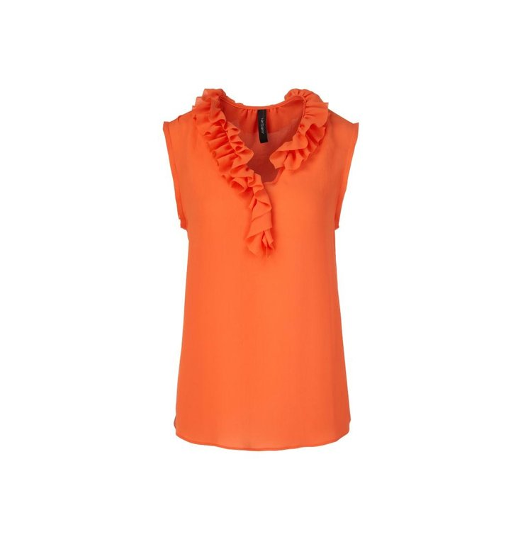 Marc Cain Marc Cain Orange Blouse QC6121-W30