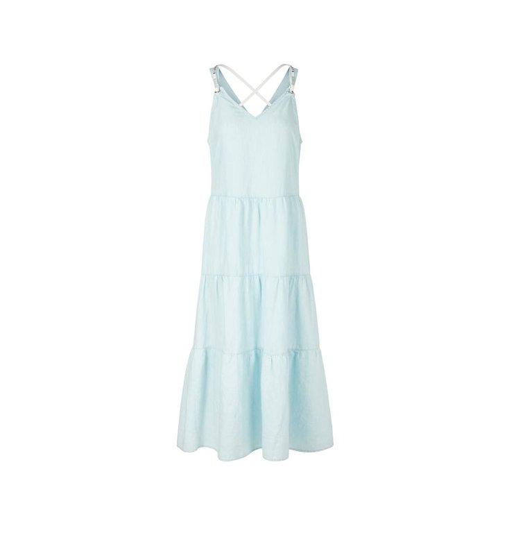 Marc Cain Marc Cain Blue Dress QS2125-D10