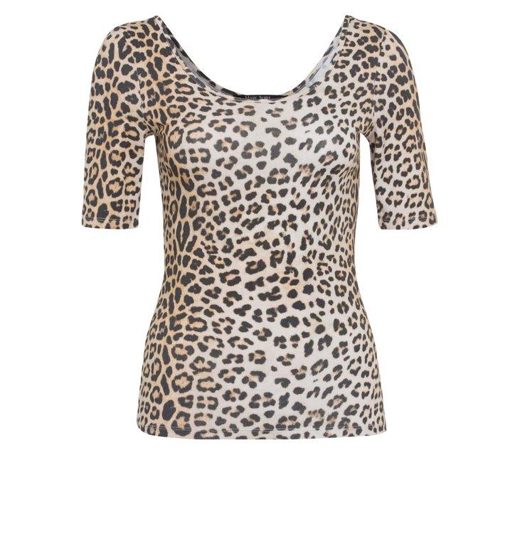 Marc Aurel Marc Aurel Leopard Shirt 7146-7000-73321