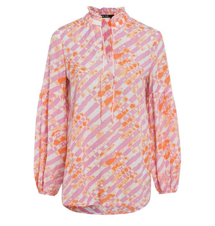 Marc Aurel Marc Aurel Pink/Multi Colour Blouse 6354-10001-92991