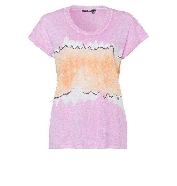 Marc Aurel Marc Aurel Pink/Multi Colour Shirt 8590-8000-81947