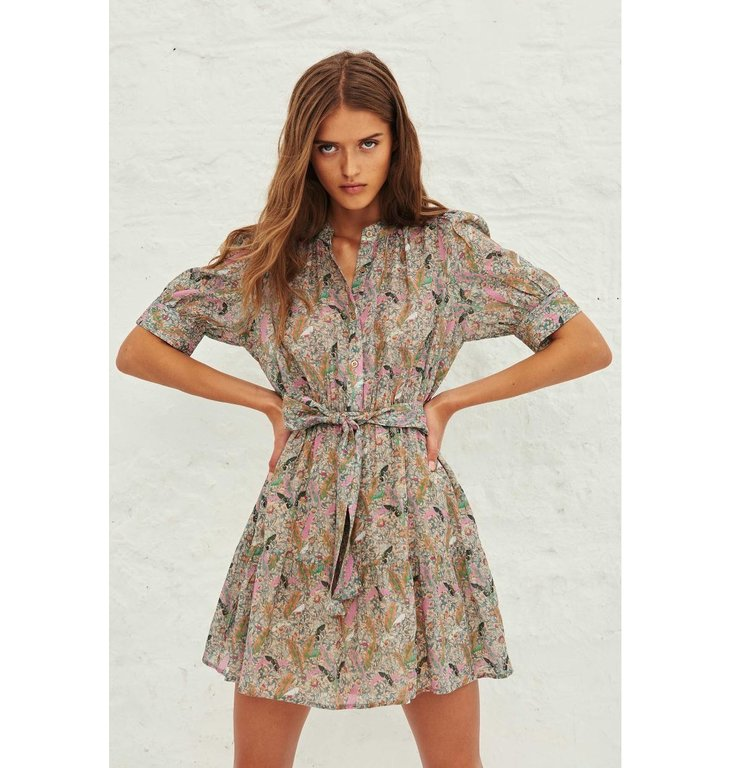 Ba&sh Ba&sh Ecru Dress Jasmine