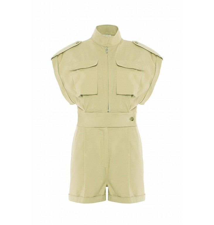 Chptr S Chptr S Green Jumpsuit Breeze Jumpsuit