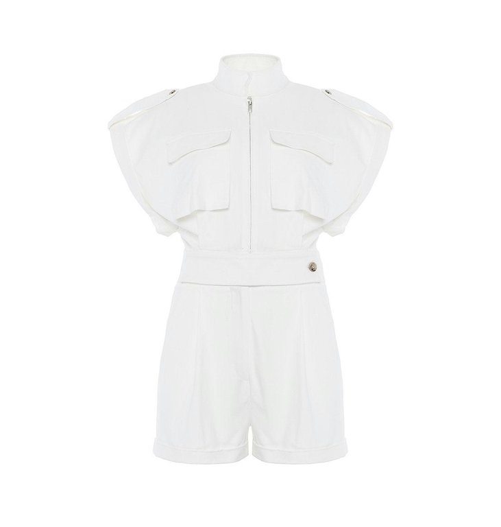 Chptr S Chptr S Off White Jumpsuit Breeze Jumpsuit