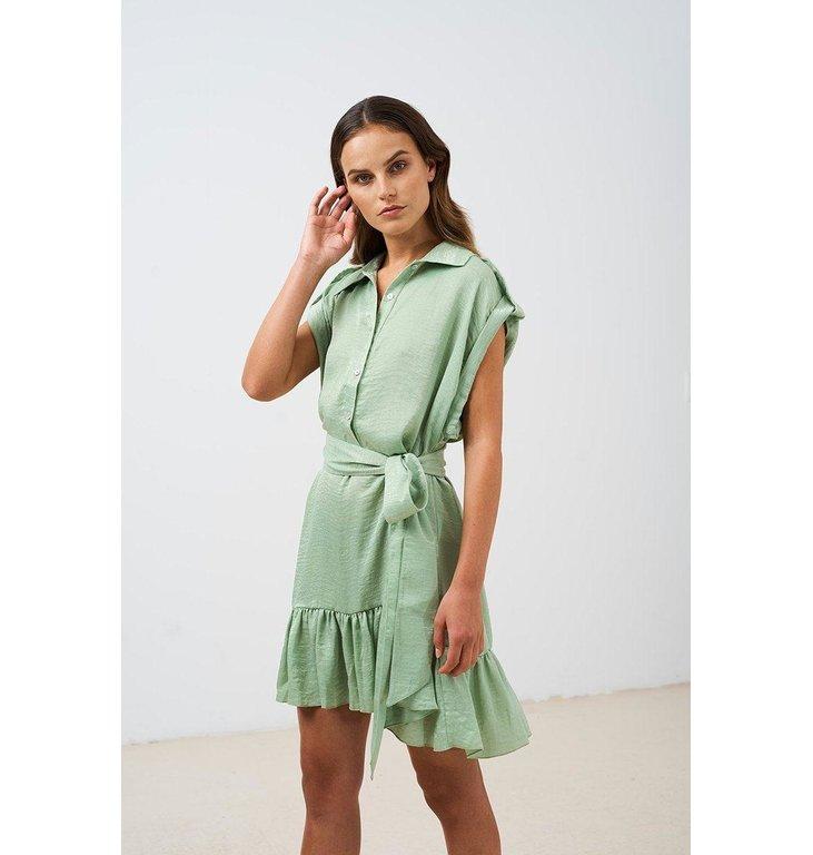 Chptr S Chptr S Mint Green Dress Airy Dress