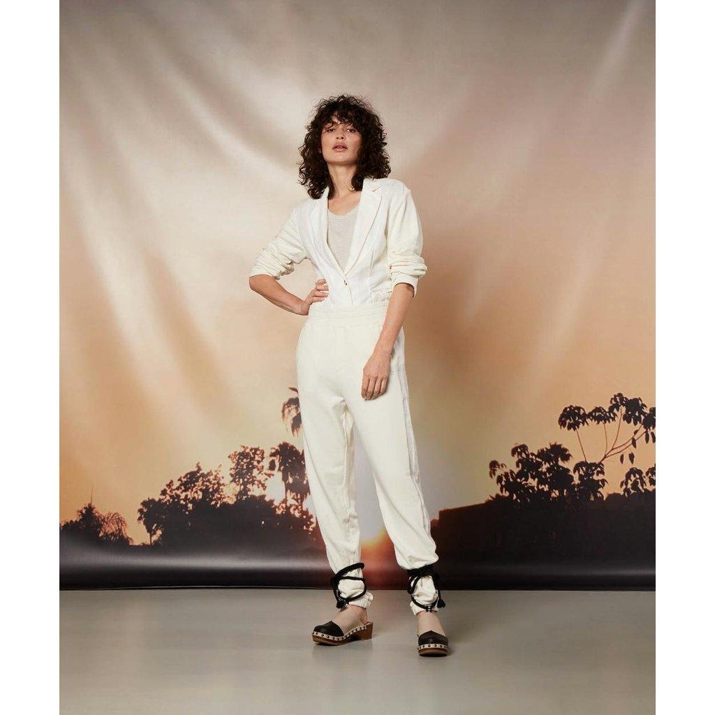 10Days Ecru pants linen 20-004-1202
