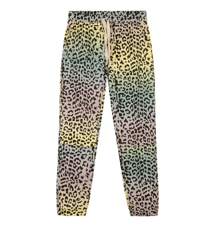 10Days 10Days Pistache cropped jogger leopard sunset 20-016-1202
