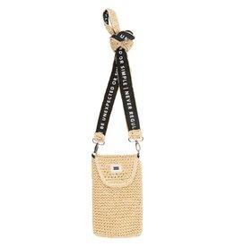 10Days 10Days Beige small pouch straw 20-962-1202