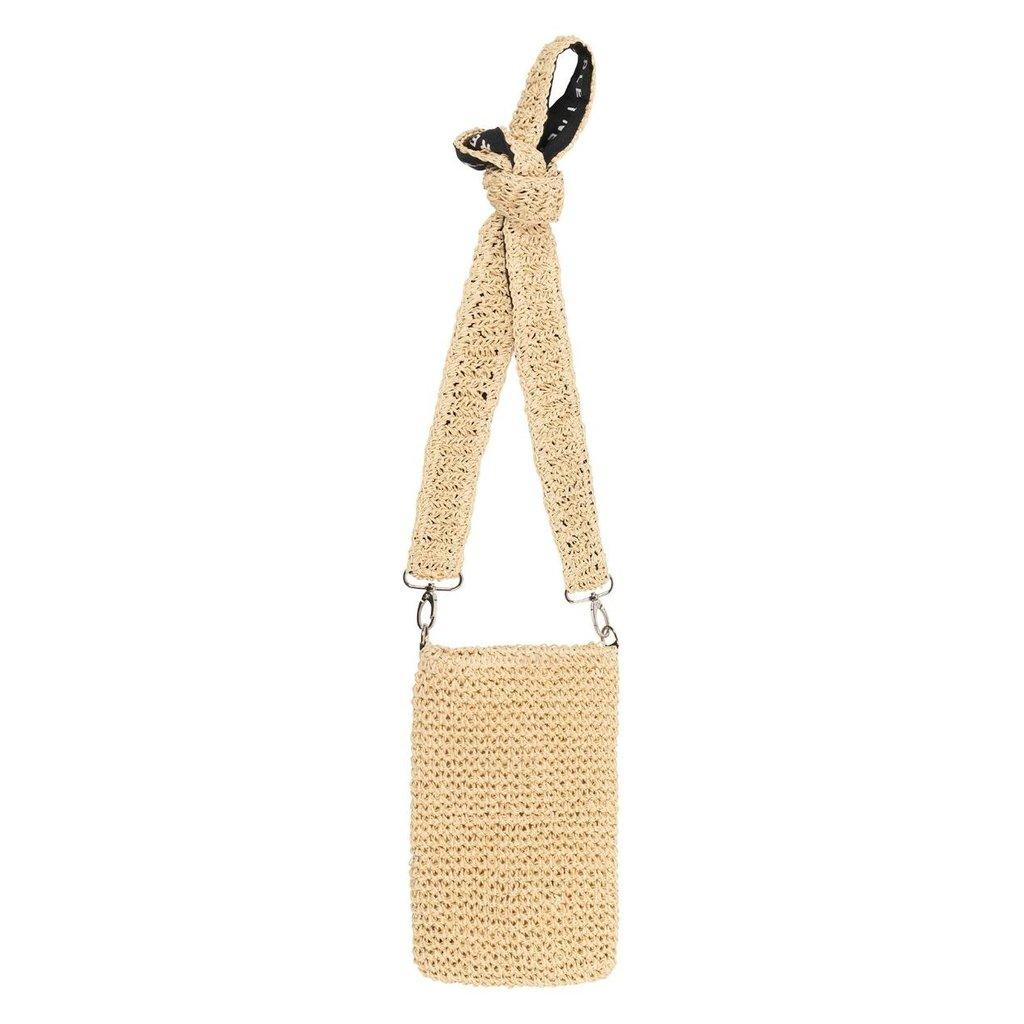 10Days Beige small pouch straw 20-962-1202