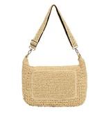 10Days Beige small weekend bag straw 20-964-1202