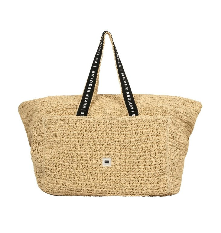 10Days 10Days Beige weekend bag straw 20-965-1202