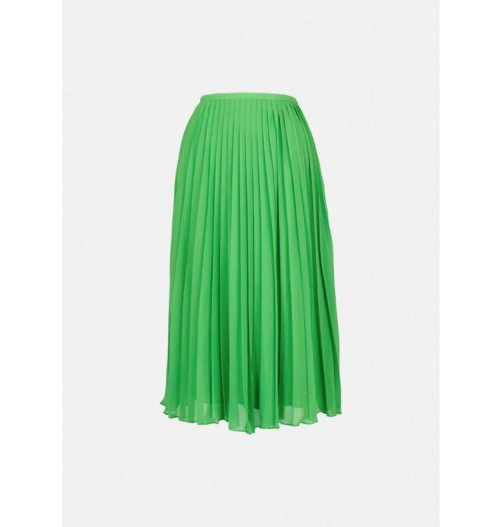 Essentiel Antwerp Essentiel Antwerp Green Pleated Skirt Zalerie