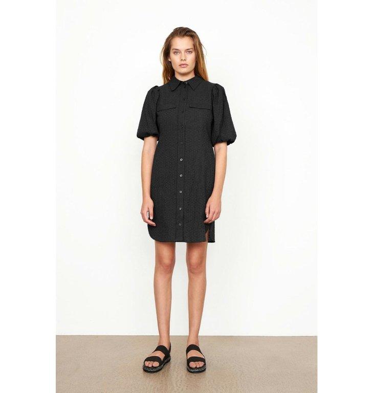 Second Female Second Female Black Bilbao Mini Dress 54777
