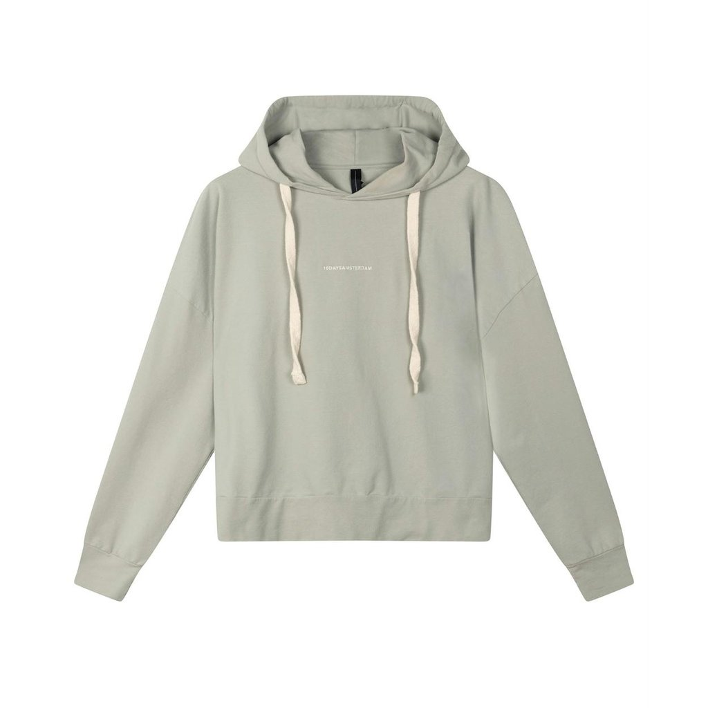 10Days Pistache Fitted Hoodie 20-803-1202