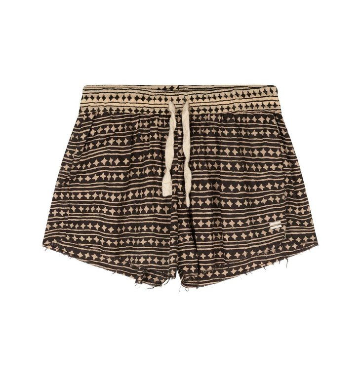 10Days 10Days Soft Black Beach Shorts Stars 20-201-1202