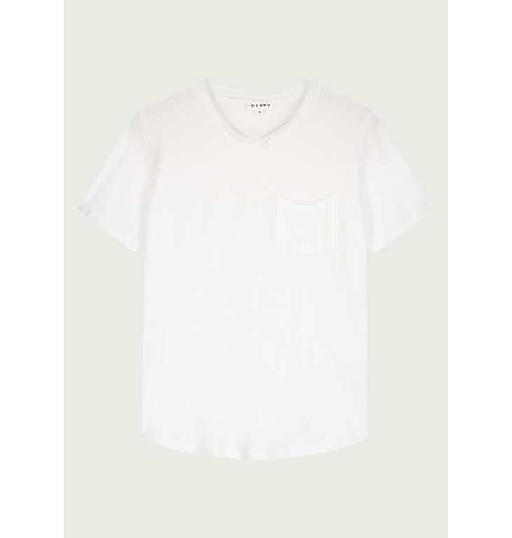 Neeve Neeve Crispy white T-shirt Pocket Tee