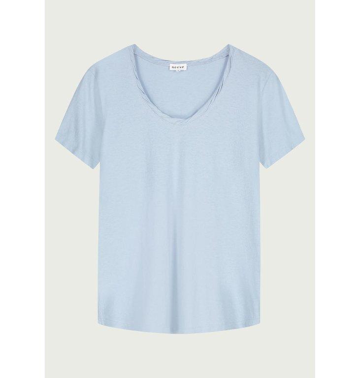 Neeve Neeve Blue fog T-shirt The V-neck
