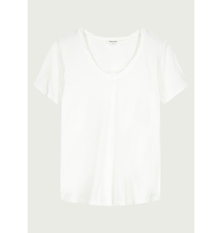 Neeve Neeve Crispy white T-shirt The V-neck