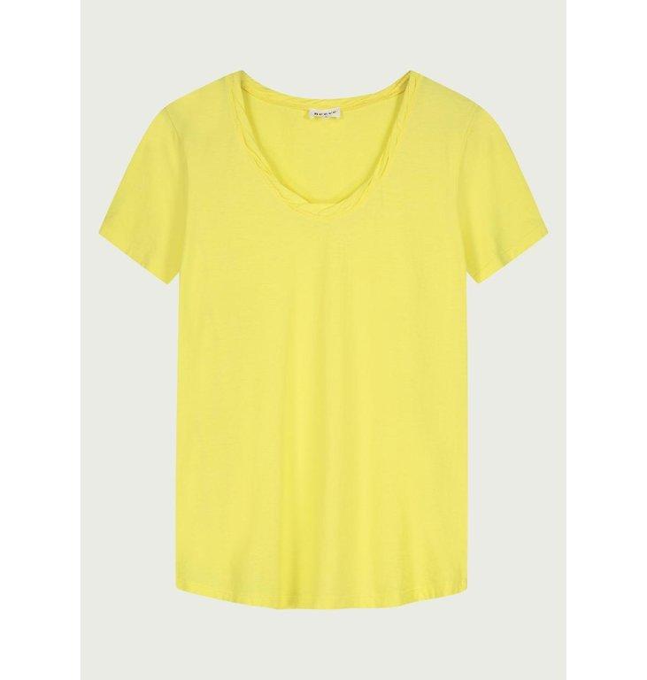 Neeve Neeve Canary yellow T-shirt The V-neck