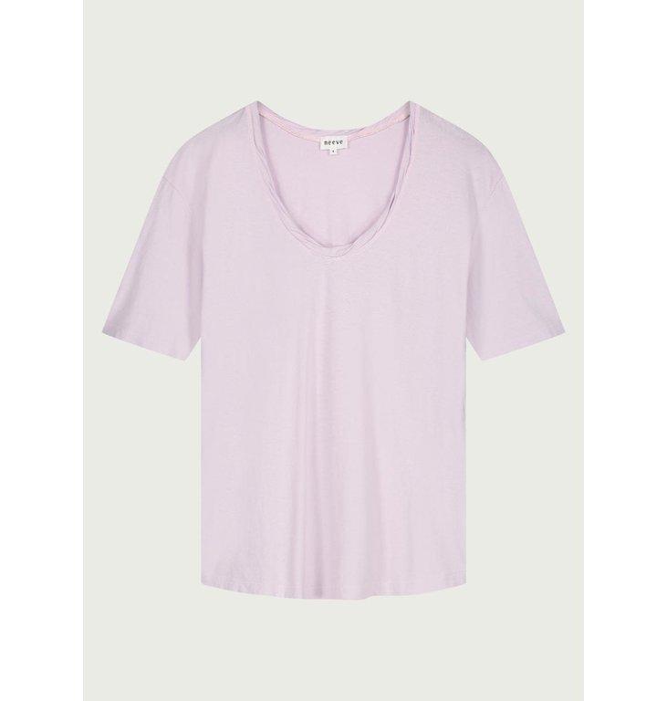 Neeve Neeve Misty lilac T-shirt The Box V-neck