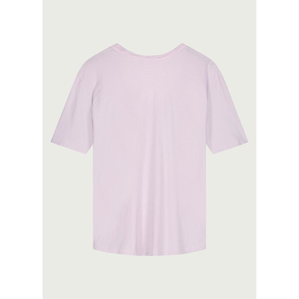 Neeve Misty lilac T-shirt The Box V-neck