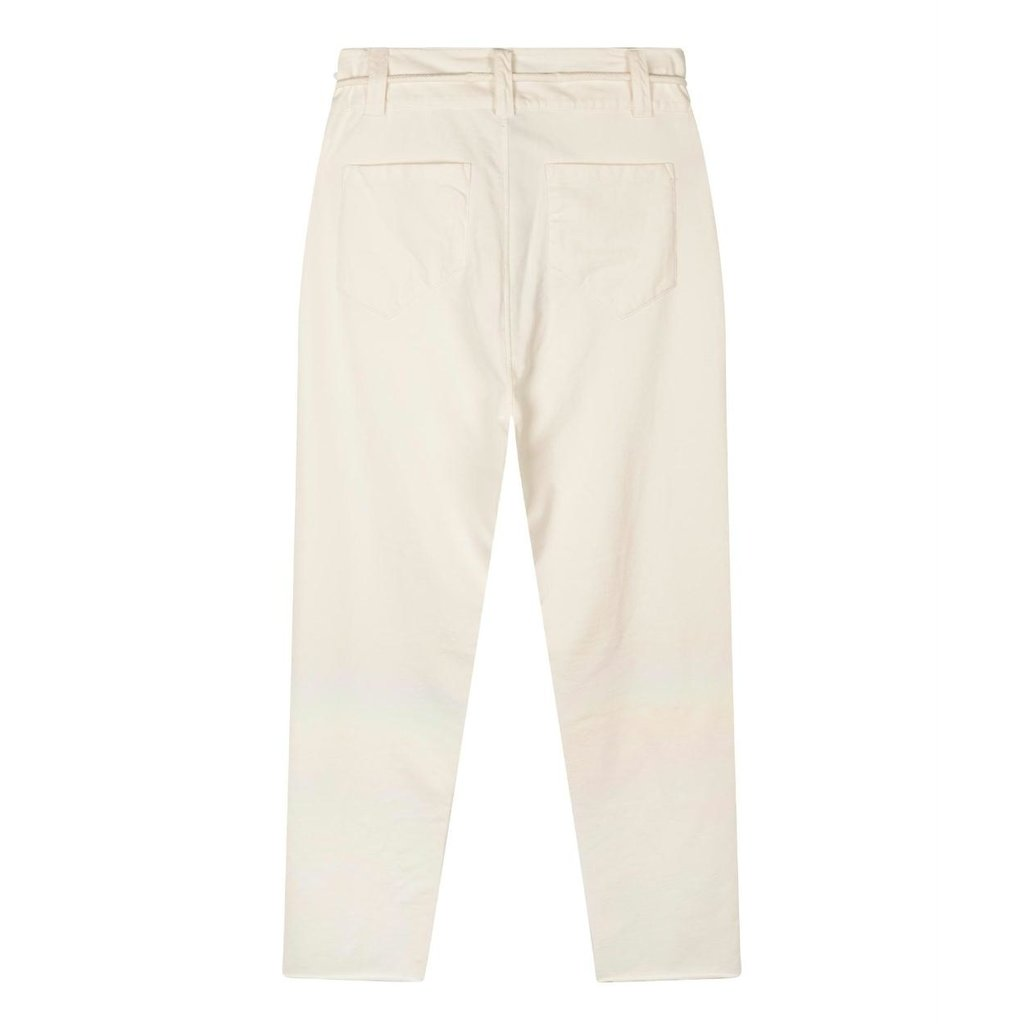10Days Ecru high waist jogger 20-008-1202