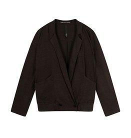10Days 10Days Soft Black blazer linen 20-507-1202