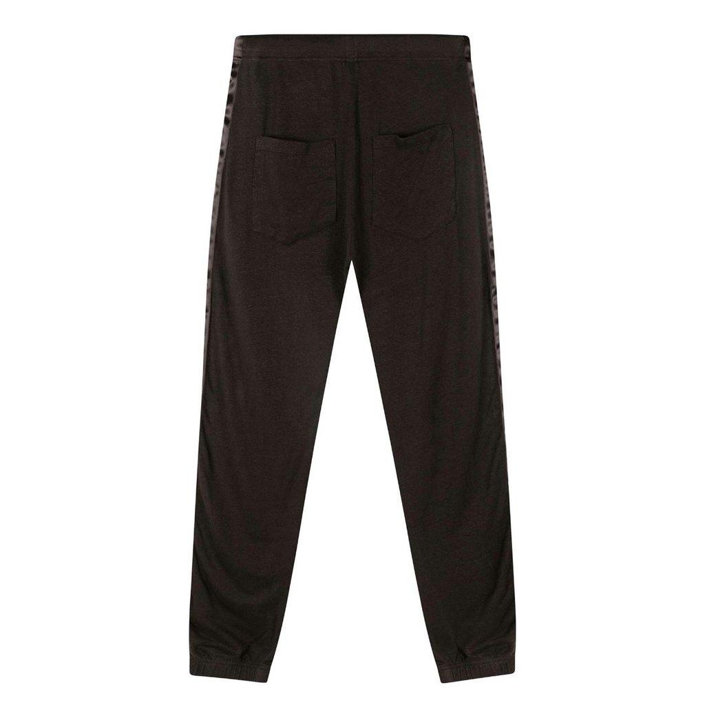 10Days Soft Black jogger linen 20-007-1202