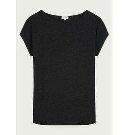 Neeve Neeve Black T-shirt The linnen Top