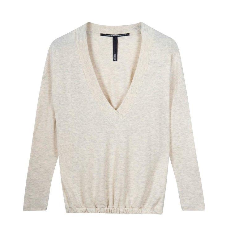 10Days 10Days Soft White soft v-neck tee 20-774-1201