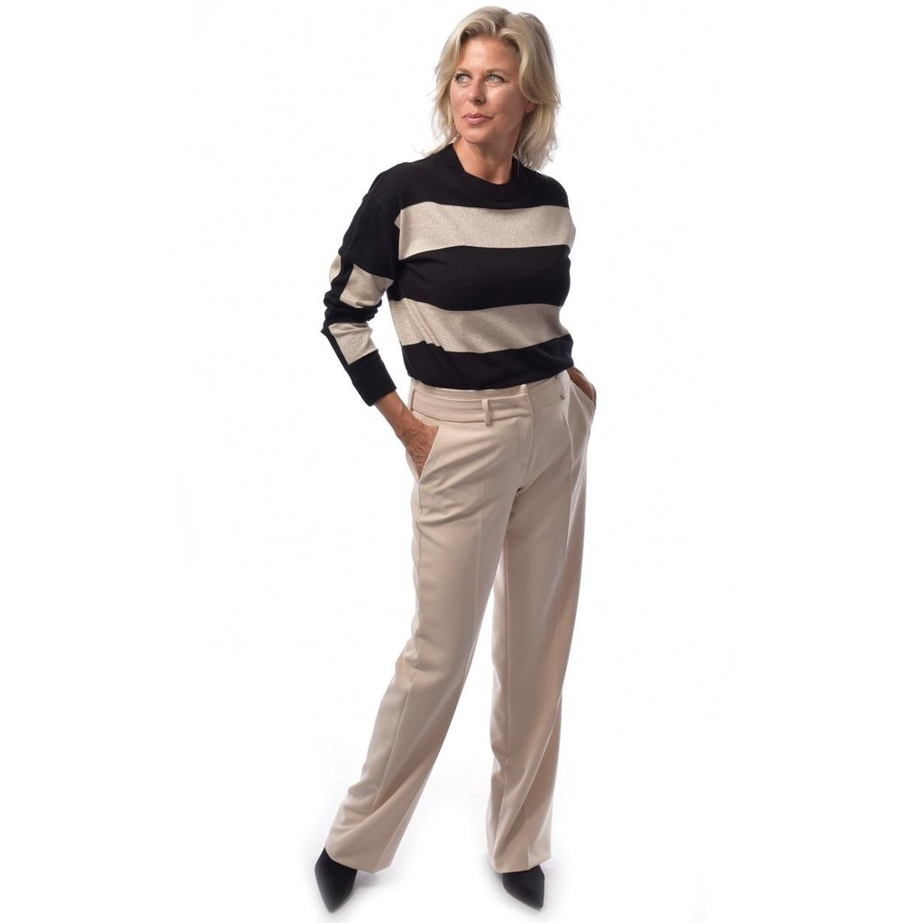 Cambio Ecru May Trousers 6018-0241-02