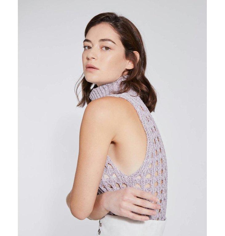 IRO IRO Pink Melee Knit Adriane