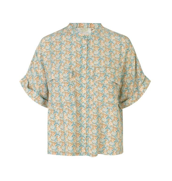 Notes du Nord Notes du Nord Multicolour Taylor Flower Shirt 12136