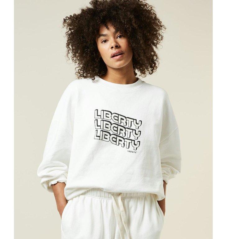 10Days 10Days Ecru Liberty Sweater 20-803-1205
