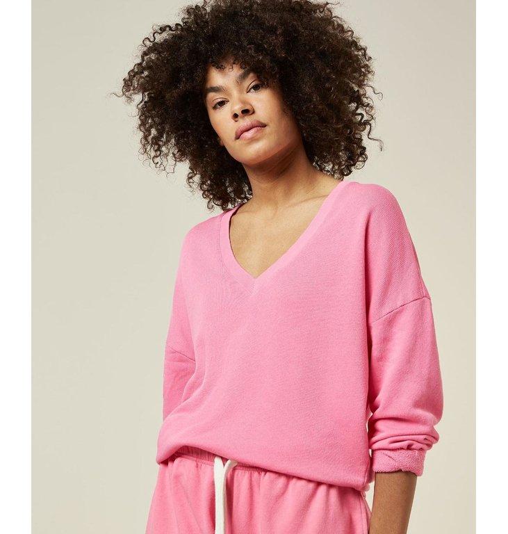 10Days 10Days Pink Sweater V-Neck 20-801-1205