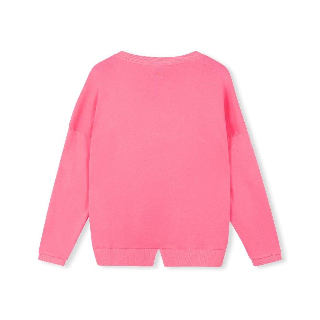 10Days Pink Sweater V-Neck 20-801-1205